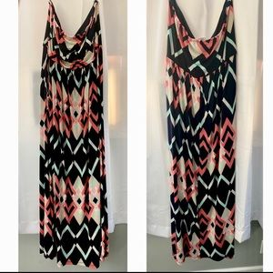 Strapless maxi with pockets